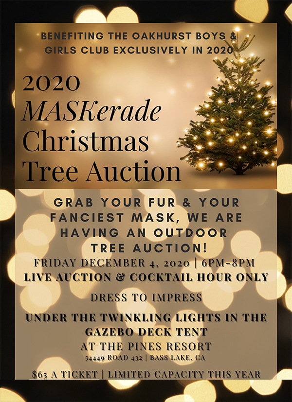 2020 Christmas Tree Auction